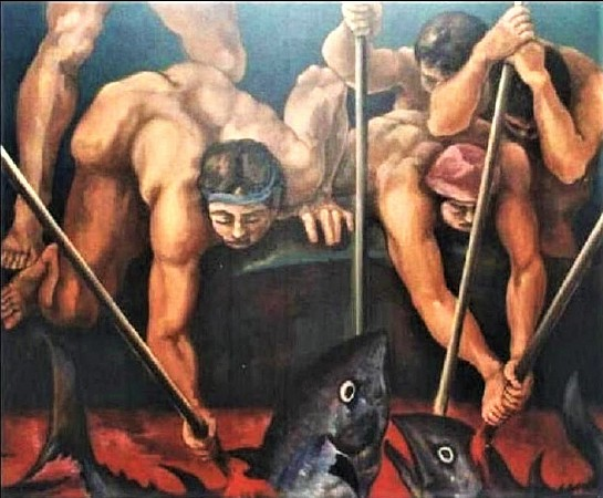The Slaughter of tuna