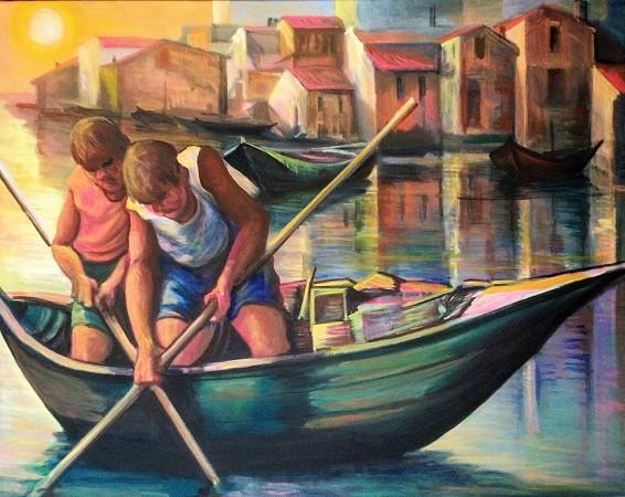 Pescarenico's Fishermen