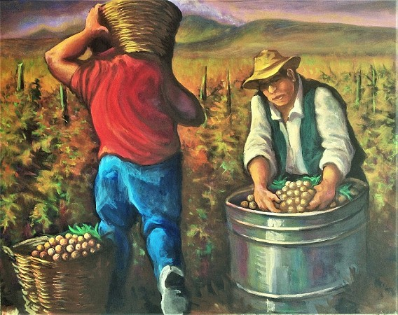 The Grape Harvest
