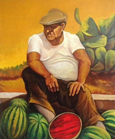 The seller of melons
