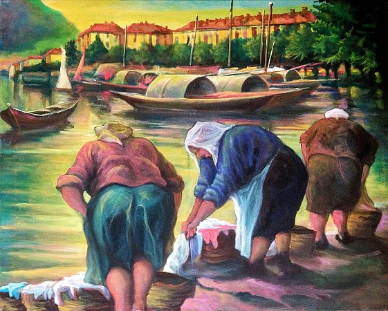 Laundresses (Lake Como)