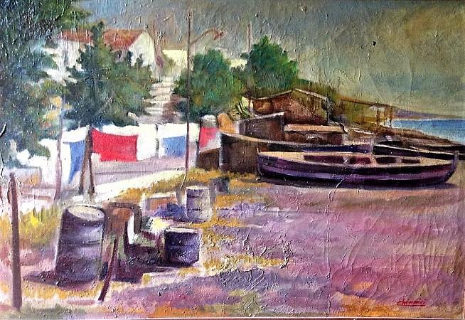 Ricovero barche a Vaccarella