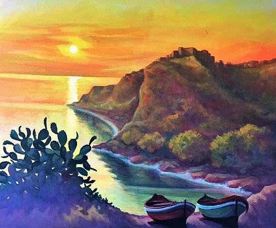 Paesaggio Marino ngonia del Tono