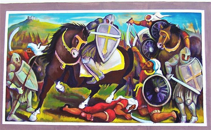 Battle Arab Norman