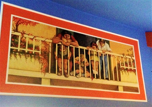 Bambini al balcone