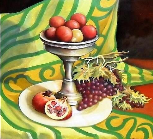 Vassoio con frutta