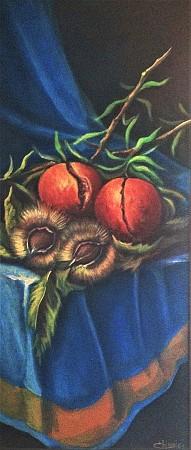 Pomegranates and chestnuts