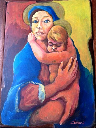 Mary with child
