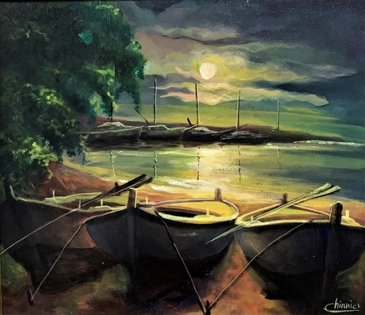 Boats in the evening