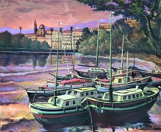 Barche alla Marina