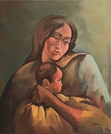 Madonna with Jesus